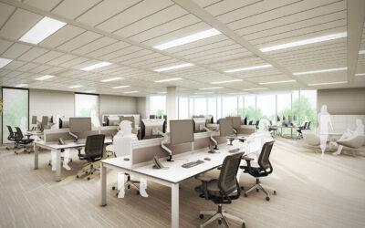 Office LED Installation