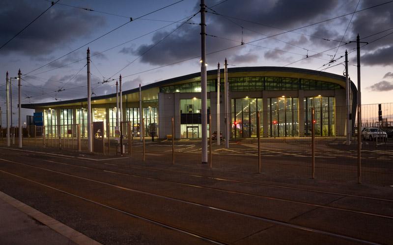 Bus Depot After LED